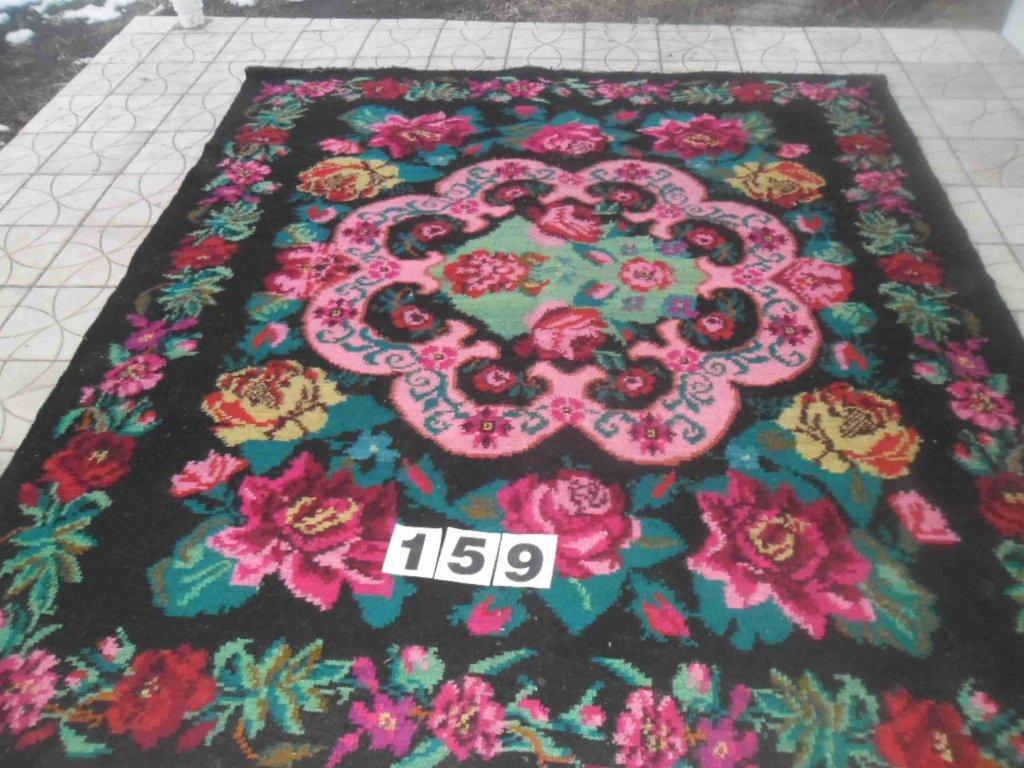 Rozenkelim no B159 ( 187cm x 216cm) Verkocht!!