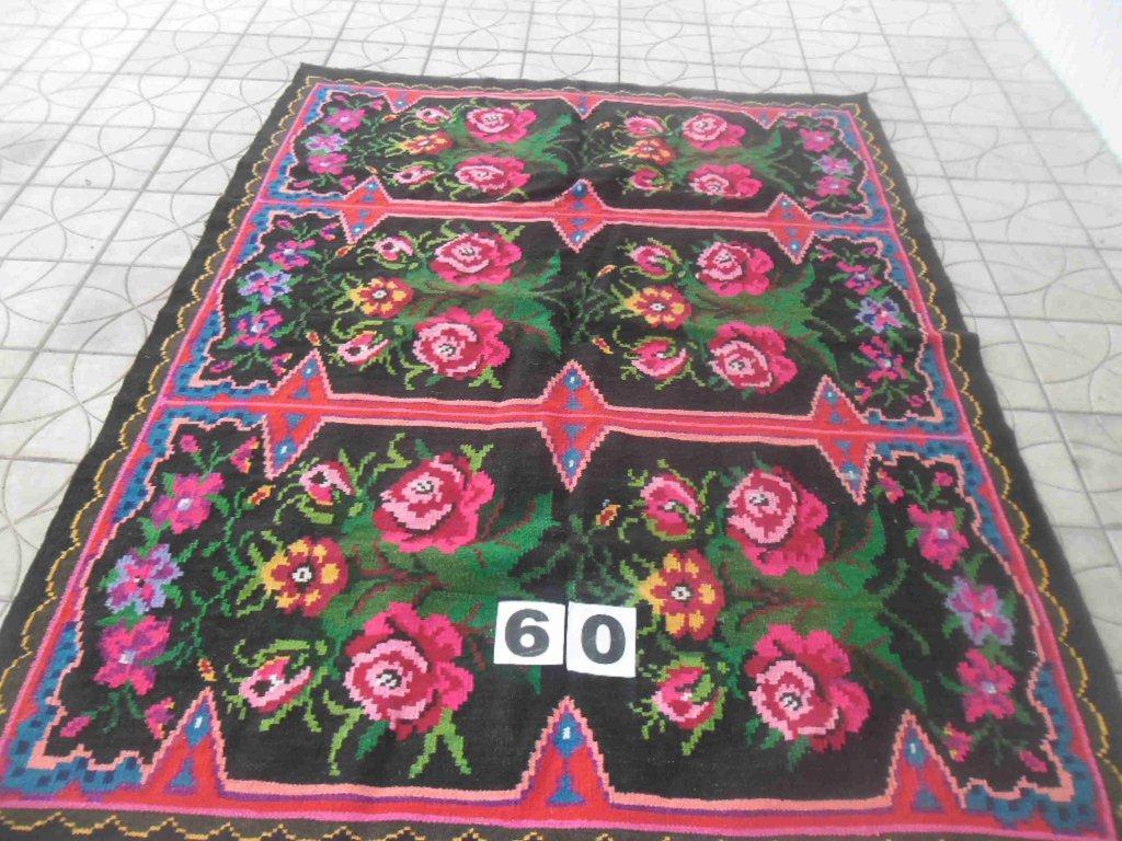 Rozenkelim no B60 (142cm x 182cm) VERKOCHT/SOLD