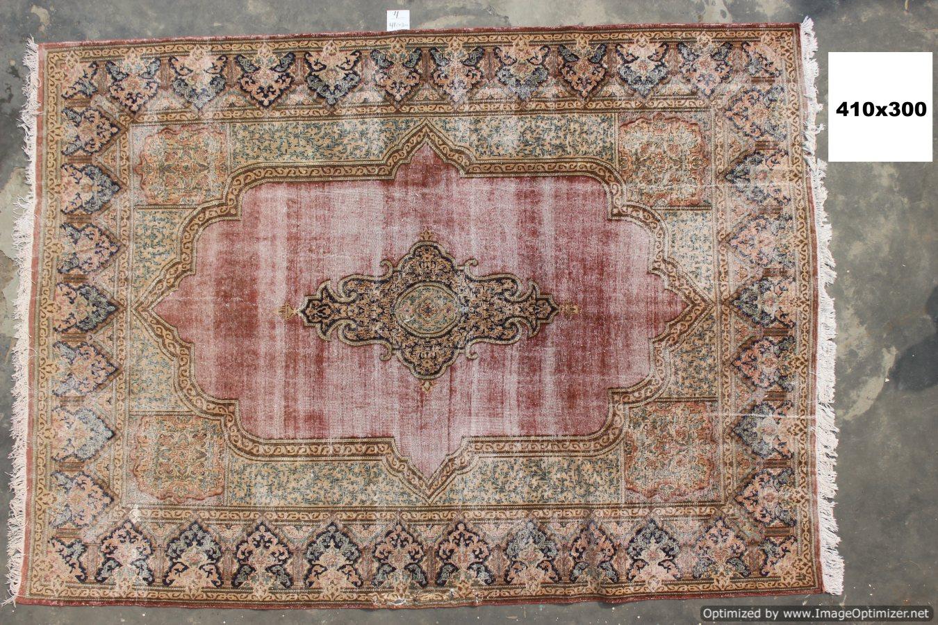 Vintage recoloured perzisch tapijt 04B (410cm x 300cm)
