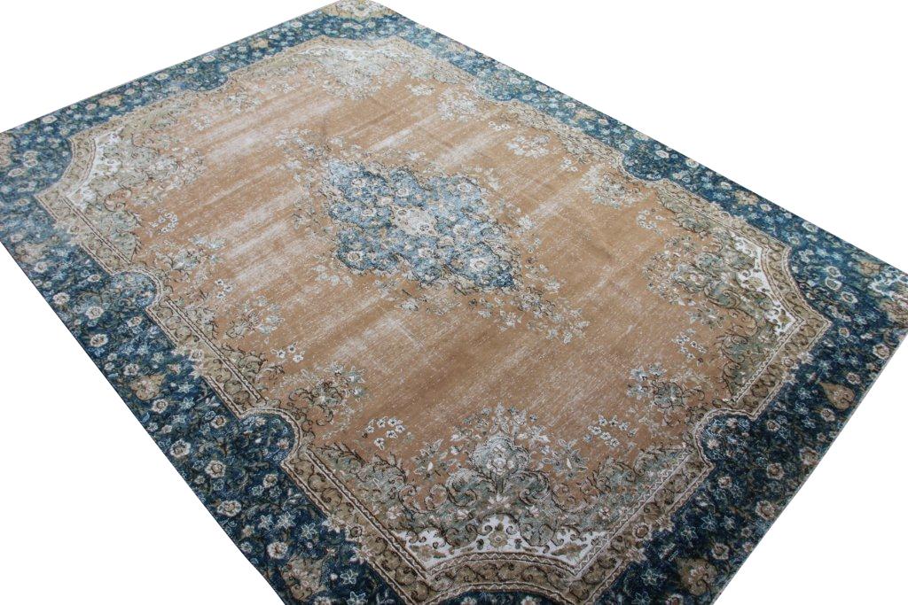Zeer groot oud vloerkleed 1030 (360cm x 254cm)