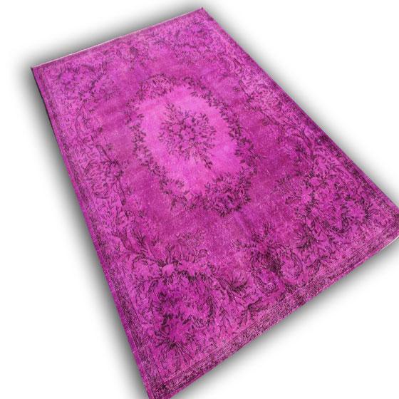 Roze tapijt 10539 (315cm x 203cm)