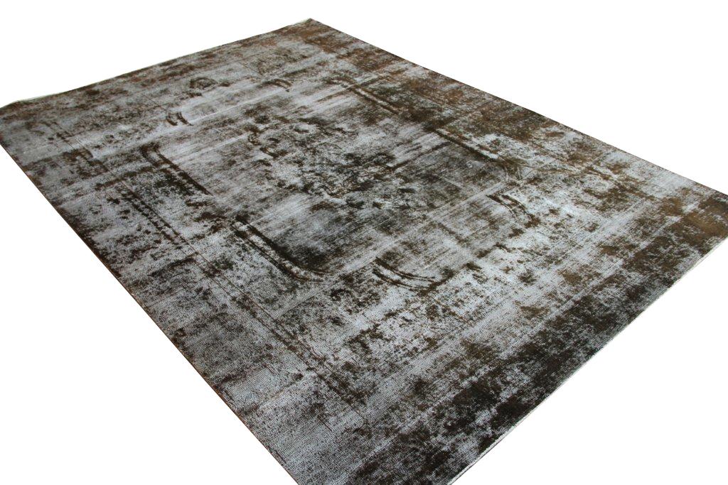 Bruin zwart vloerkleed  1060 (375cm x 271cm) Verkocht!!!