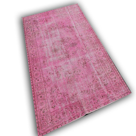 Roze vloerkleed 10610 (278cm x 186cm)