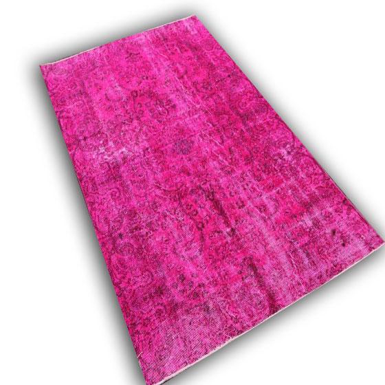 Fel roze vloerkleed 10716 (247cm x 153cm)