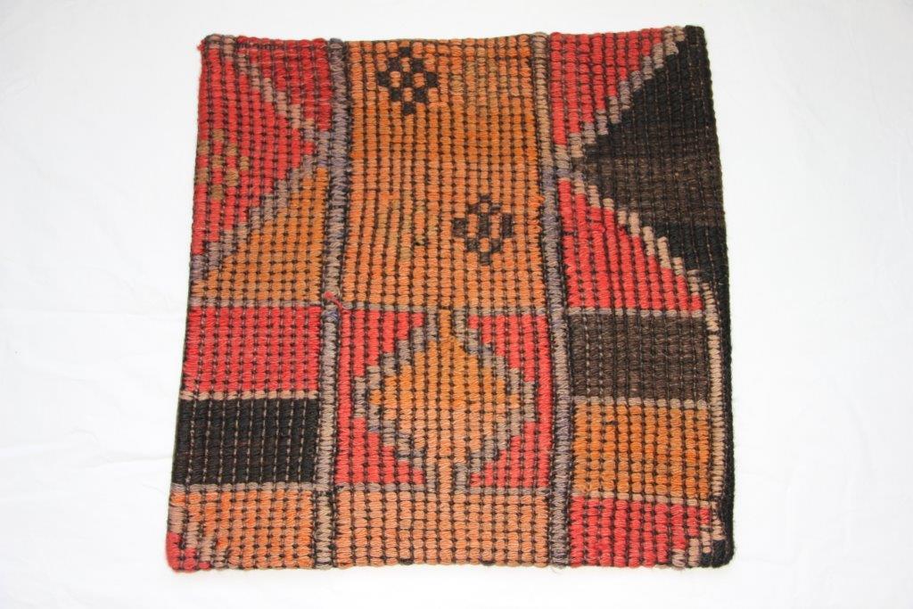 UITVERKOOP: Kelim kussen 50cm x 50cm, no 1151 (zonder binnen kussen)