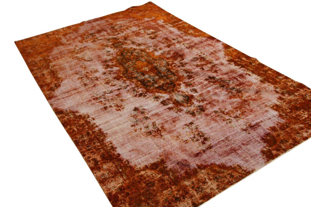 Recoloured klassiek vloerkleed nr 118 ( 356cm x 226cm)