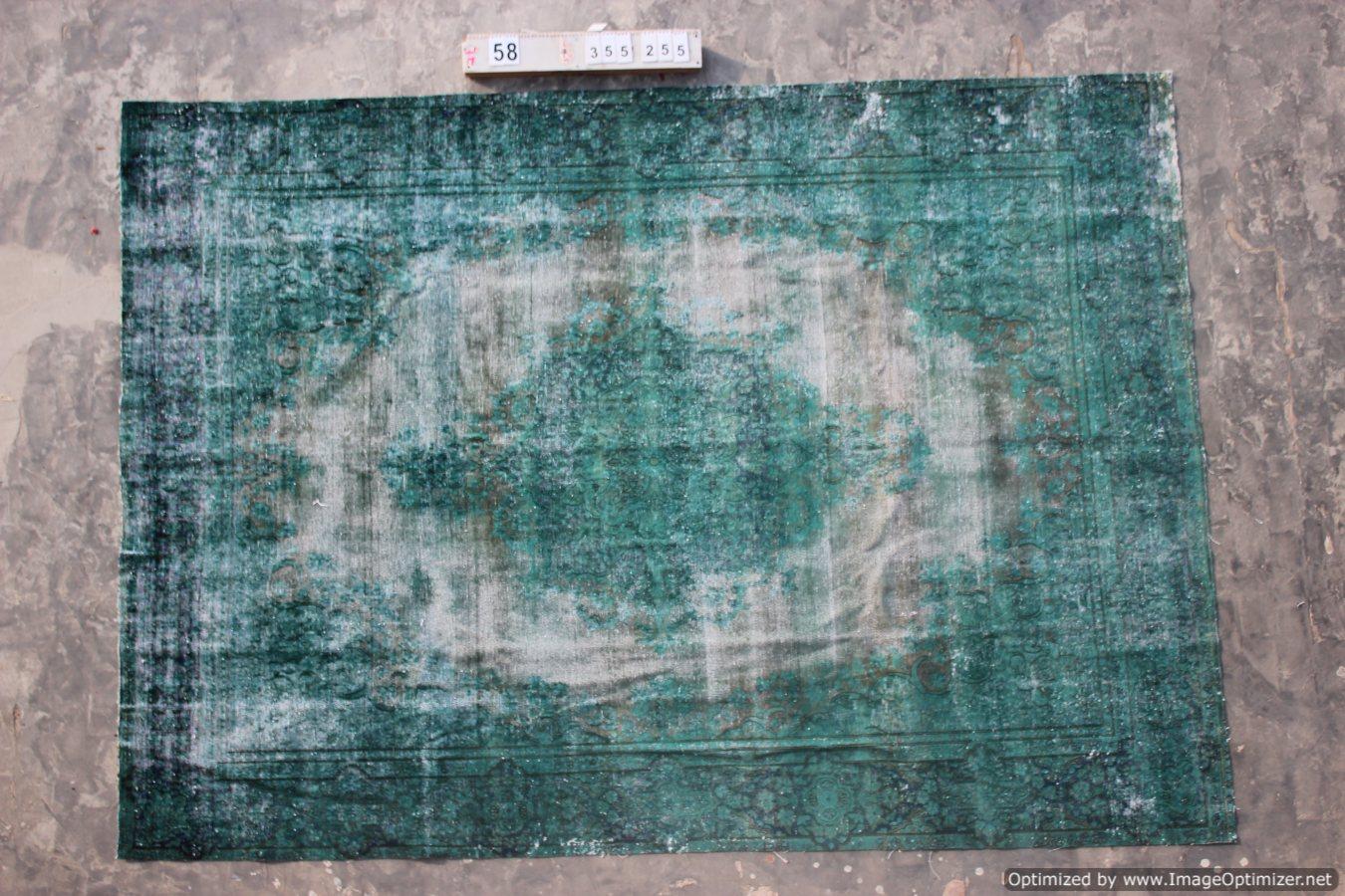 Recoloured klassiek vloerkleed nr 120058 (355cm x 255cm)