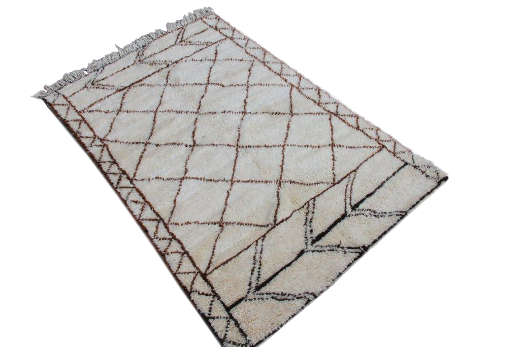 Beni Ouarain vloerkleed uit Marokko no 1206 270cm x 137cm