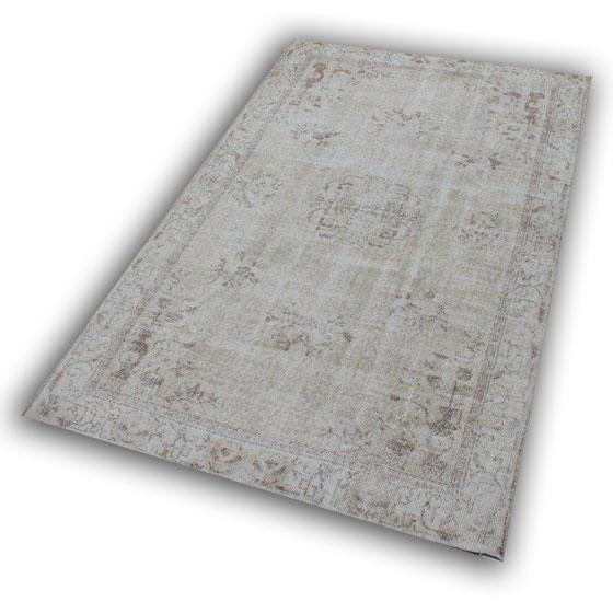 Beige vloerkleed 123 (268cm x 166cm)