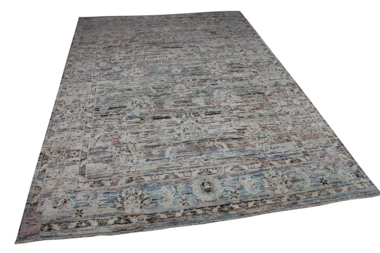 Handgemaakt vloerkleed uit Afghanistan 12407 292cm x 202cm
