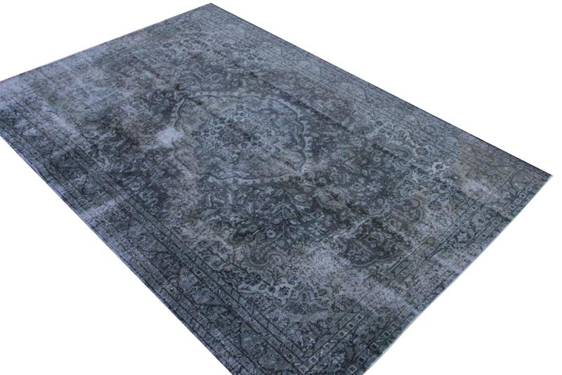 Geschoren vintage vloerkleed nr 1258 (285cm x 196cm)