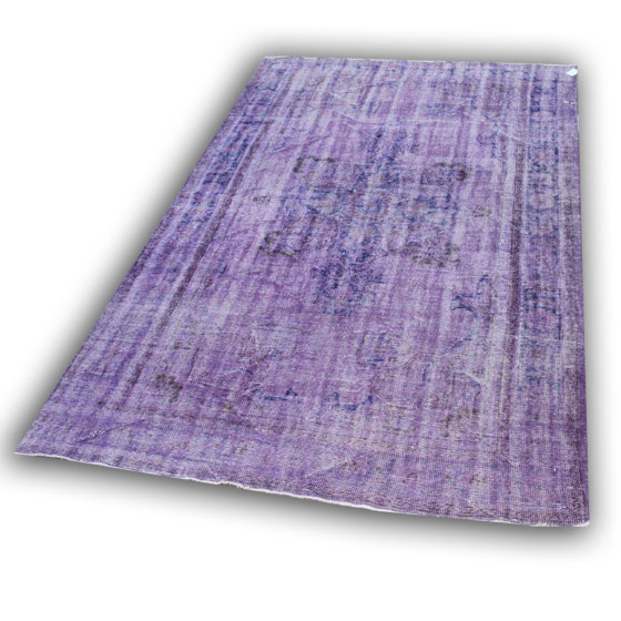 Vintage paars vloerkleed 1299 (305cm x 190cm) Verkocht!