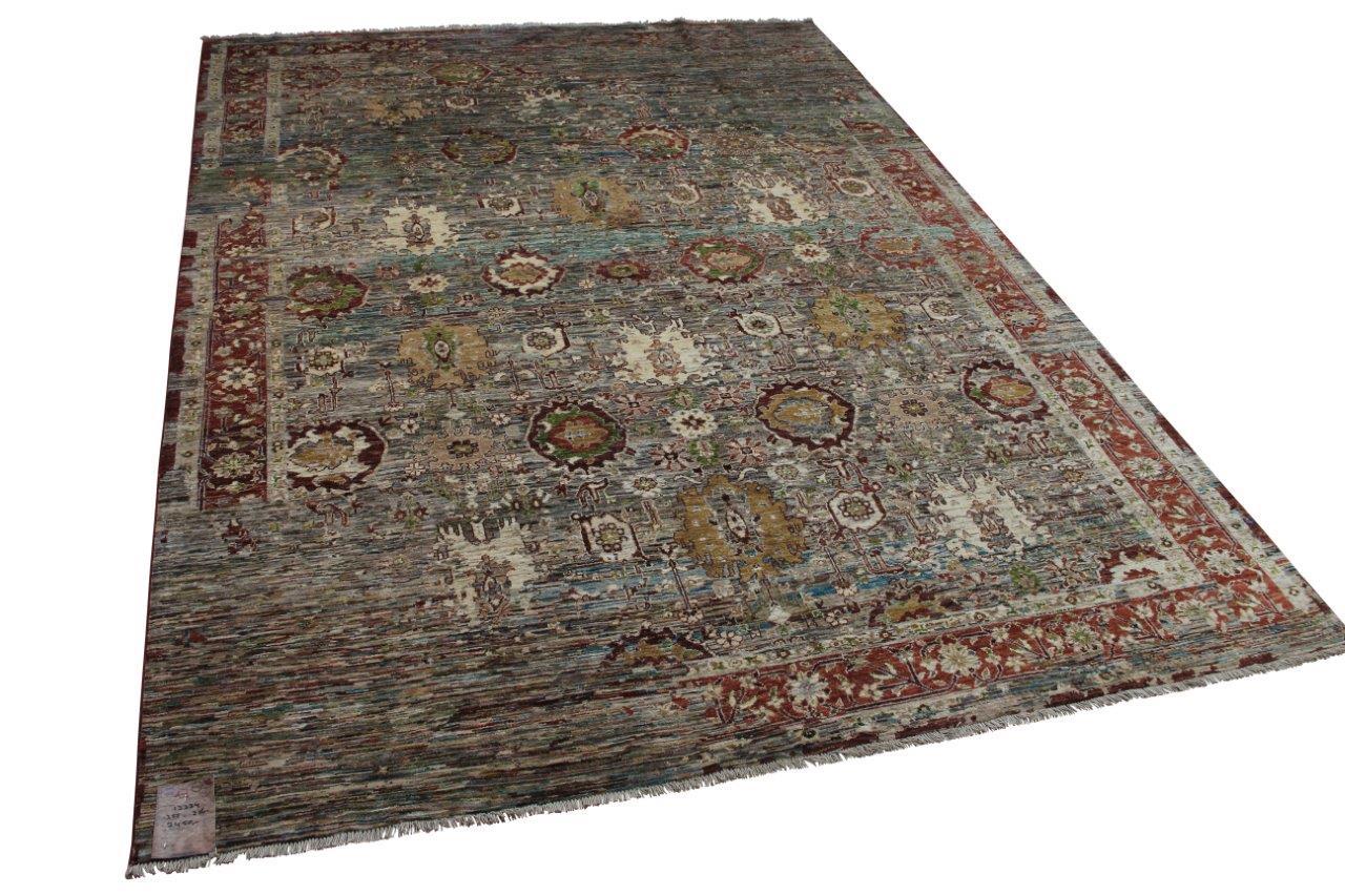 Handgemaakt vloerkleed uit Afghanistan 13334 355cm x 250cm