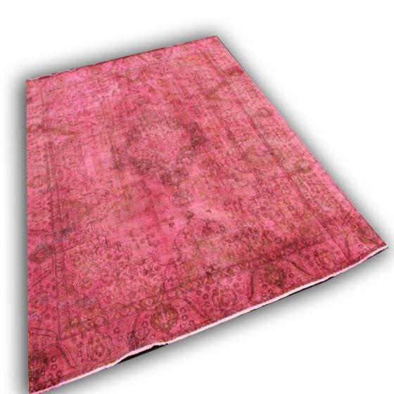 Roze vloerkleed 1405 (365cm x 273cm)