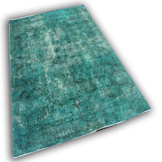 Zeegroen tapijt 1408 (298cm x 201cm)