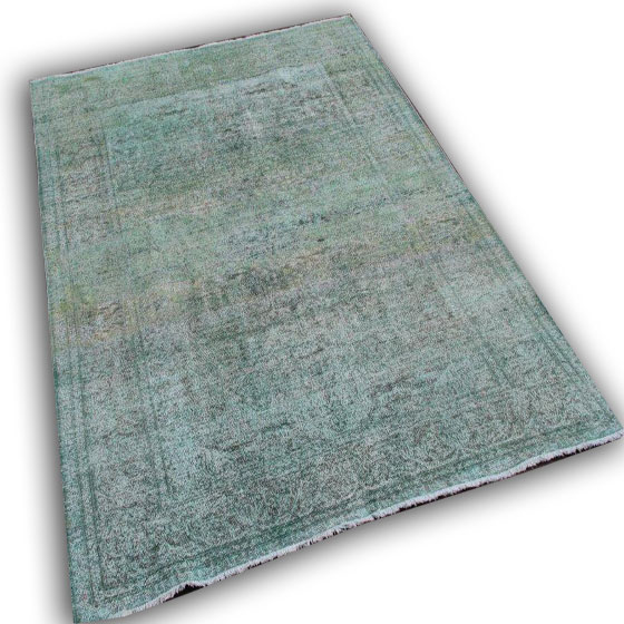 Lichtblauw vloerkleed 1411 (285cm x 188cm)