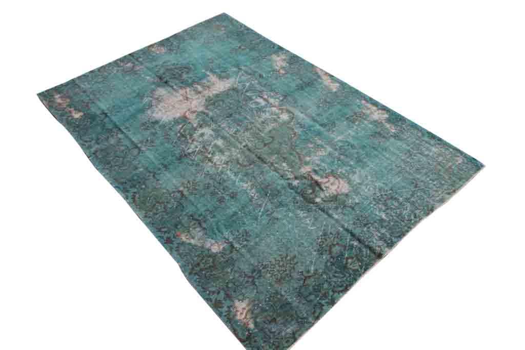 Authentiek recoloured vloerkleed nr 1440 (261cm x 182cm)