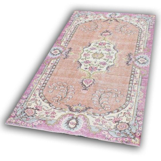 Licht vintage tapijt 1462 (273cm x 159cm)