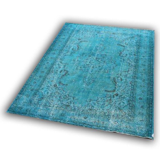 Blauw tapijt 152 ( 252cm x 195cm)