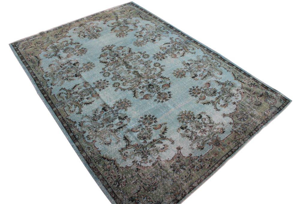 Authentiek recoloured vloerkleed nr 1656 (300cm x 208cm)