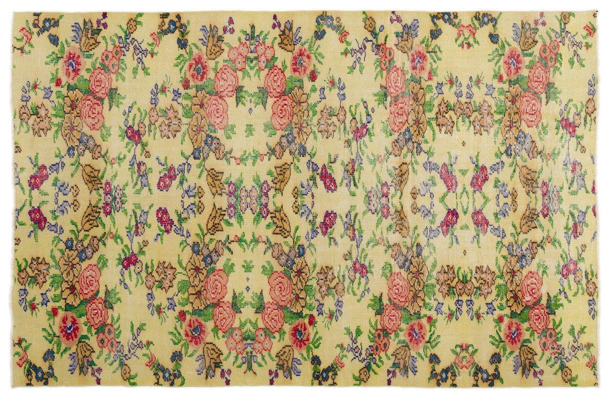 Vintage vloerkleed diverse kleuren 17013 275cm x 178cm