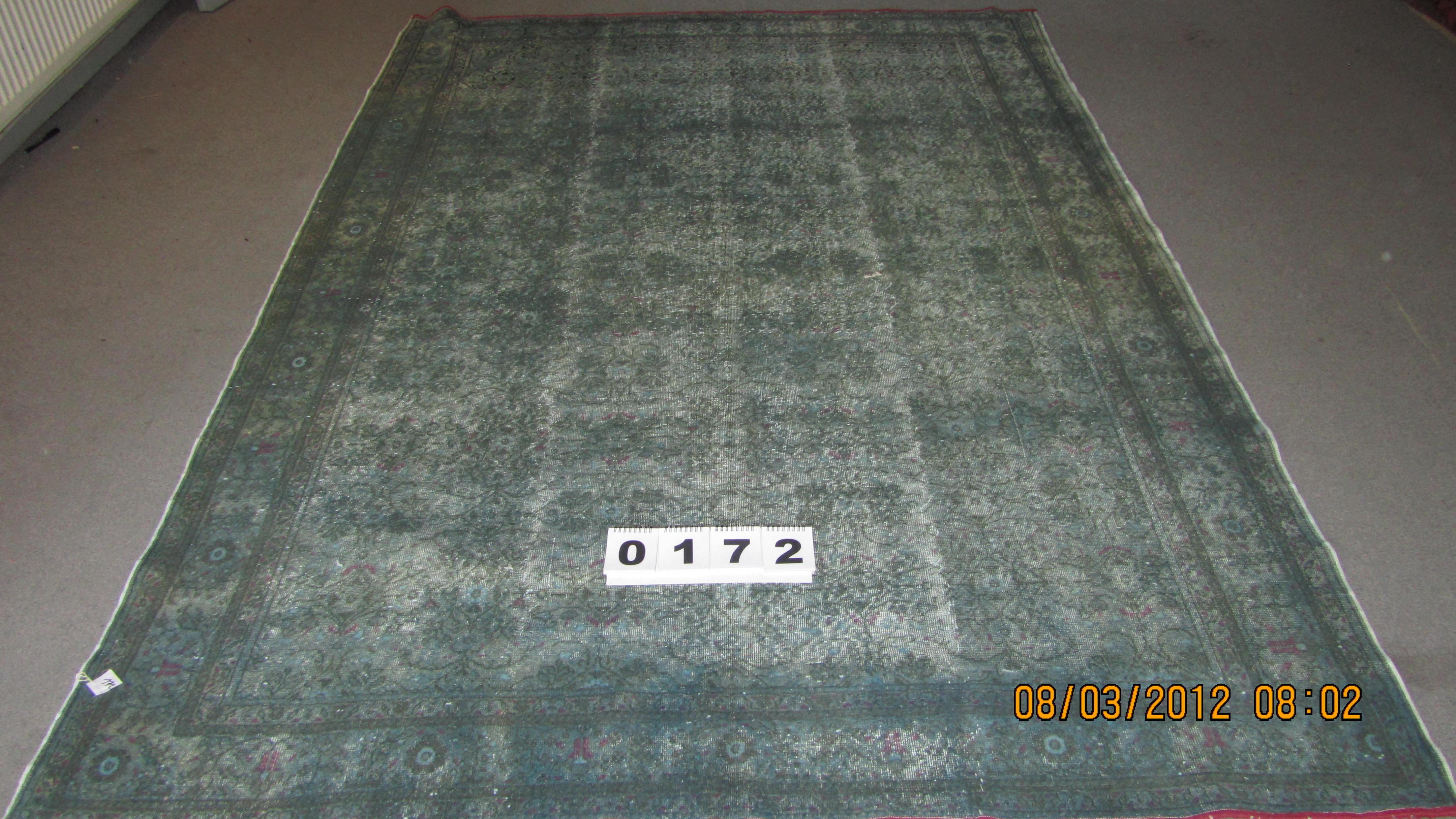 Petrol tapijt 172 (280cm x 196cm)