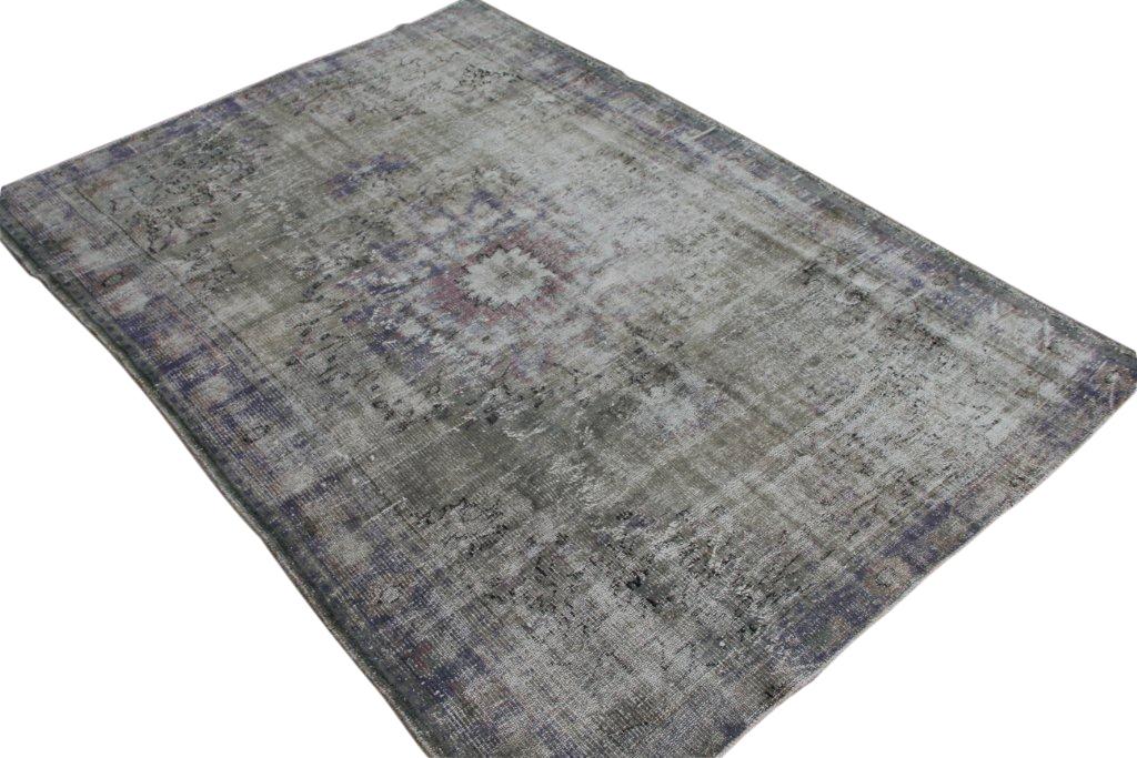 Authentiek recoloured vloerkleed nr 1735 (271cm x 192cm)