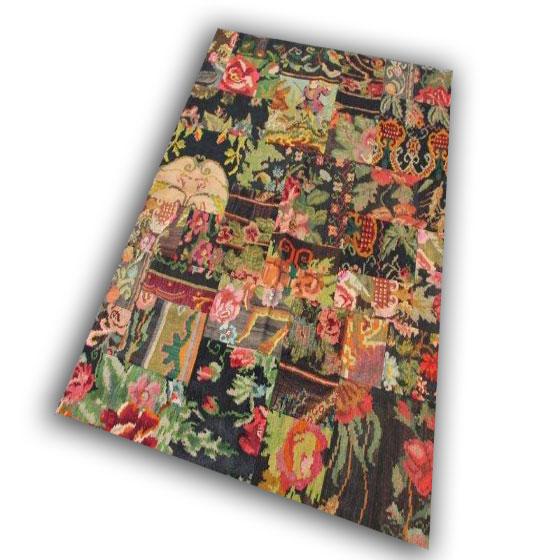 Kelim patchwork 178 (230cm x 174cm) FACEBOOK AANBIEDING!!!