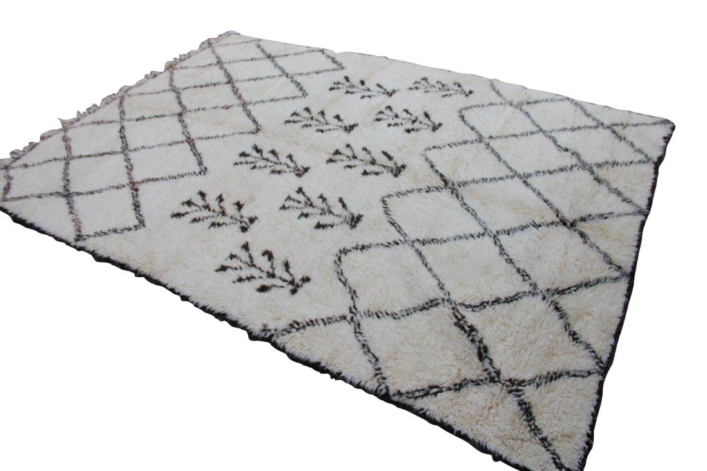 Beni Ouarain vloerkleed uit Marokko no 1790  293cm x 200cm