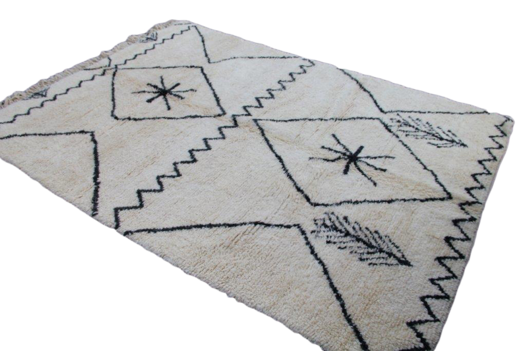 Beni Ouarain vloerkleed uit Marokko no 1800  293cm x 200cm