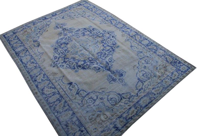 Vintage vloerkleed nr 1866 (295cm x 215cm)  (Wij bezorgen gratis en niet tevreden is geld terug!)