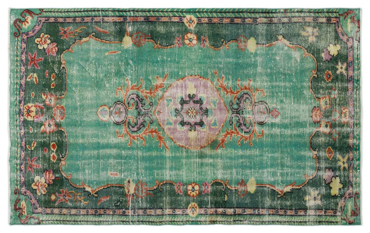 Vintage vloerkleed diverse kleuren 241cm x 150cm