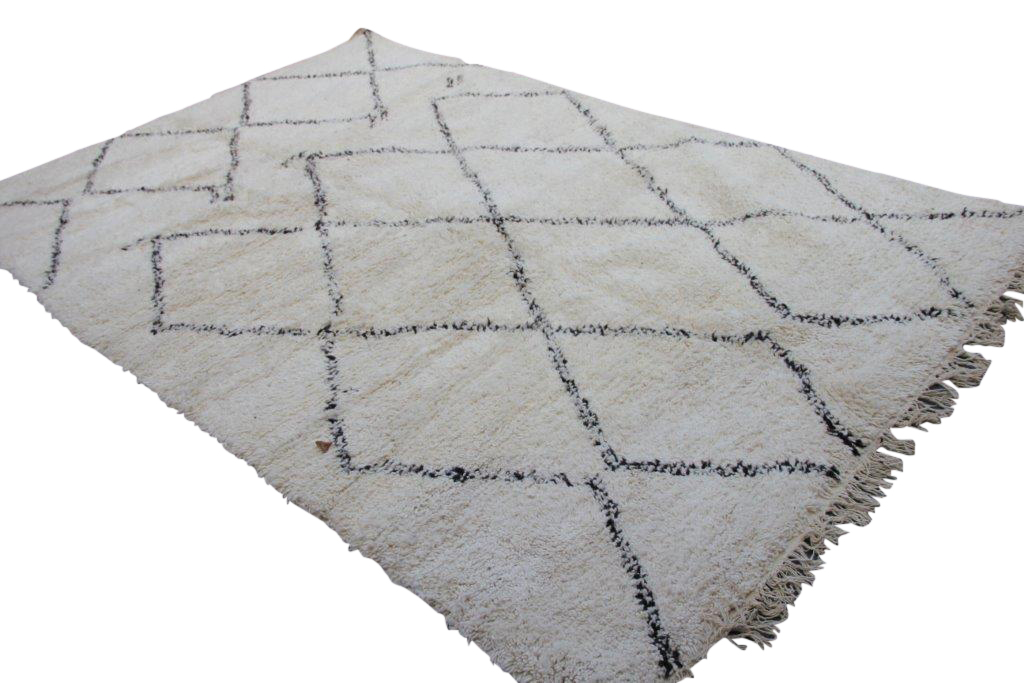 Beni Ouarain vloerkleed uit Marokko no 1873  305cm x 200cm