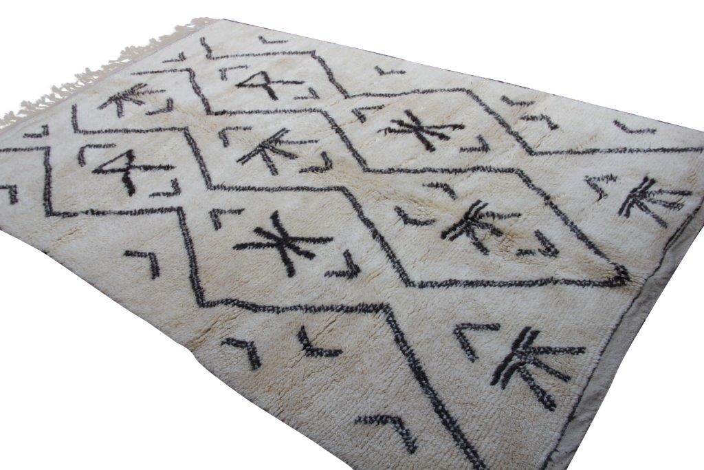 Beni Ouarain vloerkleed uit Marokko no 1875  287cm x 185cm