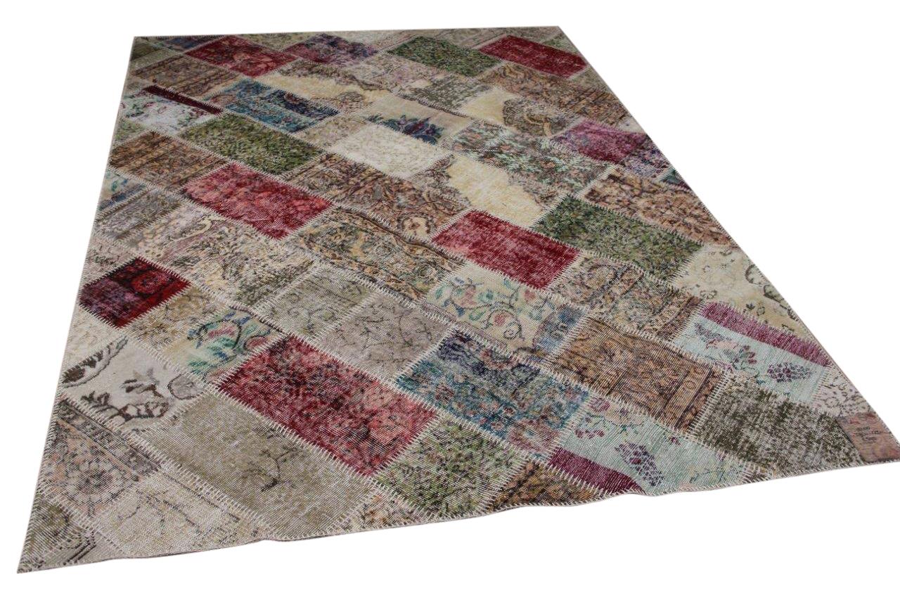 Patchwork vloerkleed diverse kleuren nr.19200 290cm x 200cm