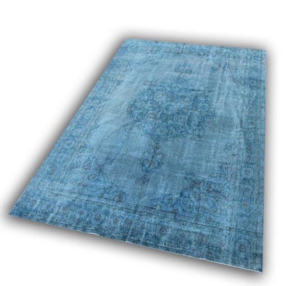 Lichtblauw vloerkleed 196 (296cm x 209cm) FACEBOOK AANBIEDING!