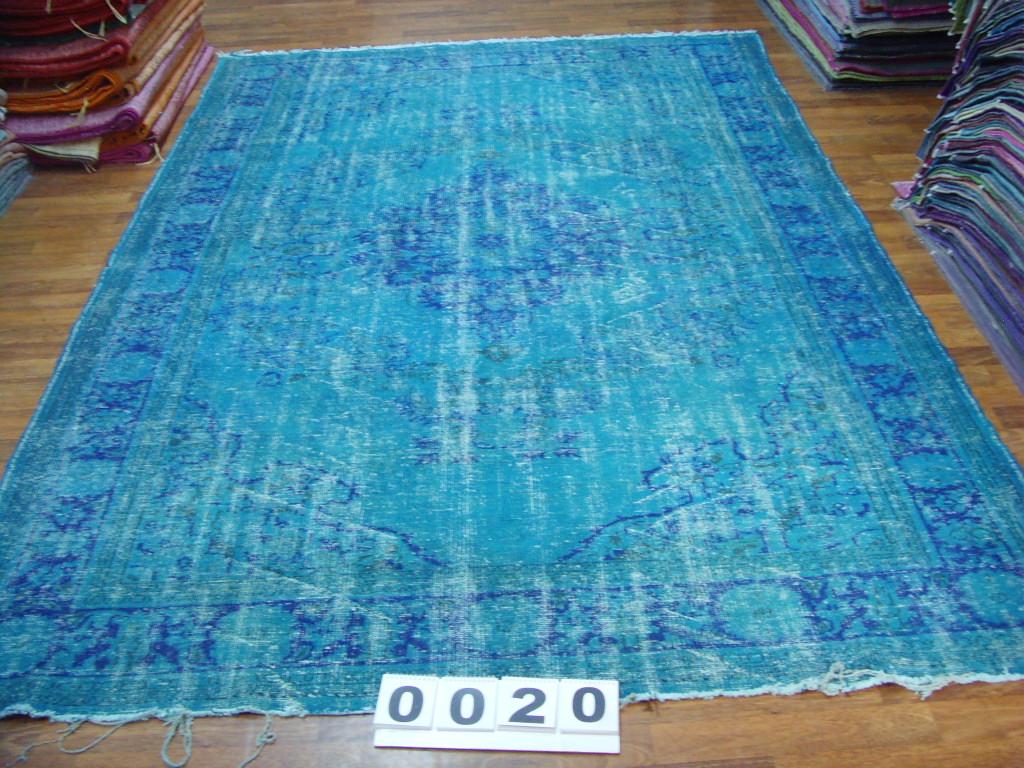 Blauw vloerkleed no 0020 (340cm x 226cm) VERKOCHT!!!!