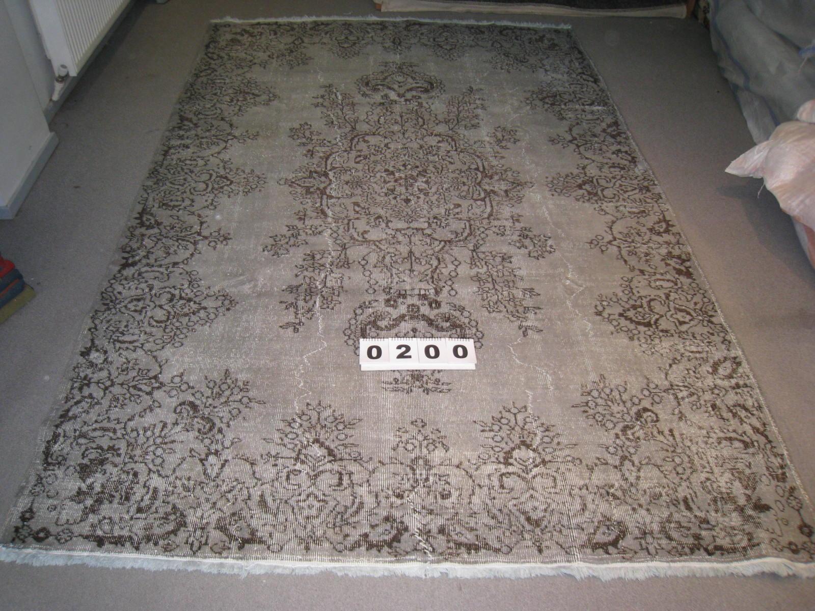 Grijs vloerkleed 200 (307cm x 204cm)