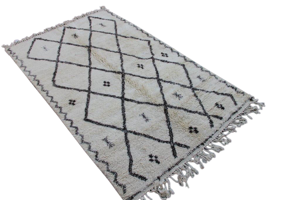 Berber vloerkleed uit Marokko no 020057 300cm x 178cm