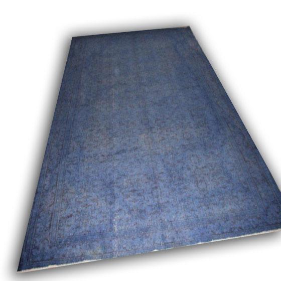 Blauw vloerkleed 2033 (397cm x270cm) Verkocht