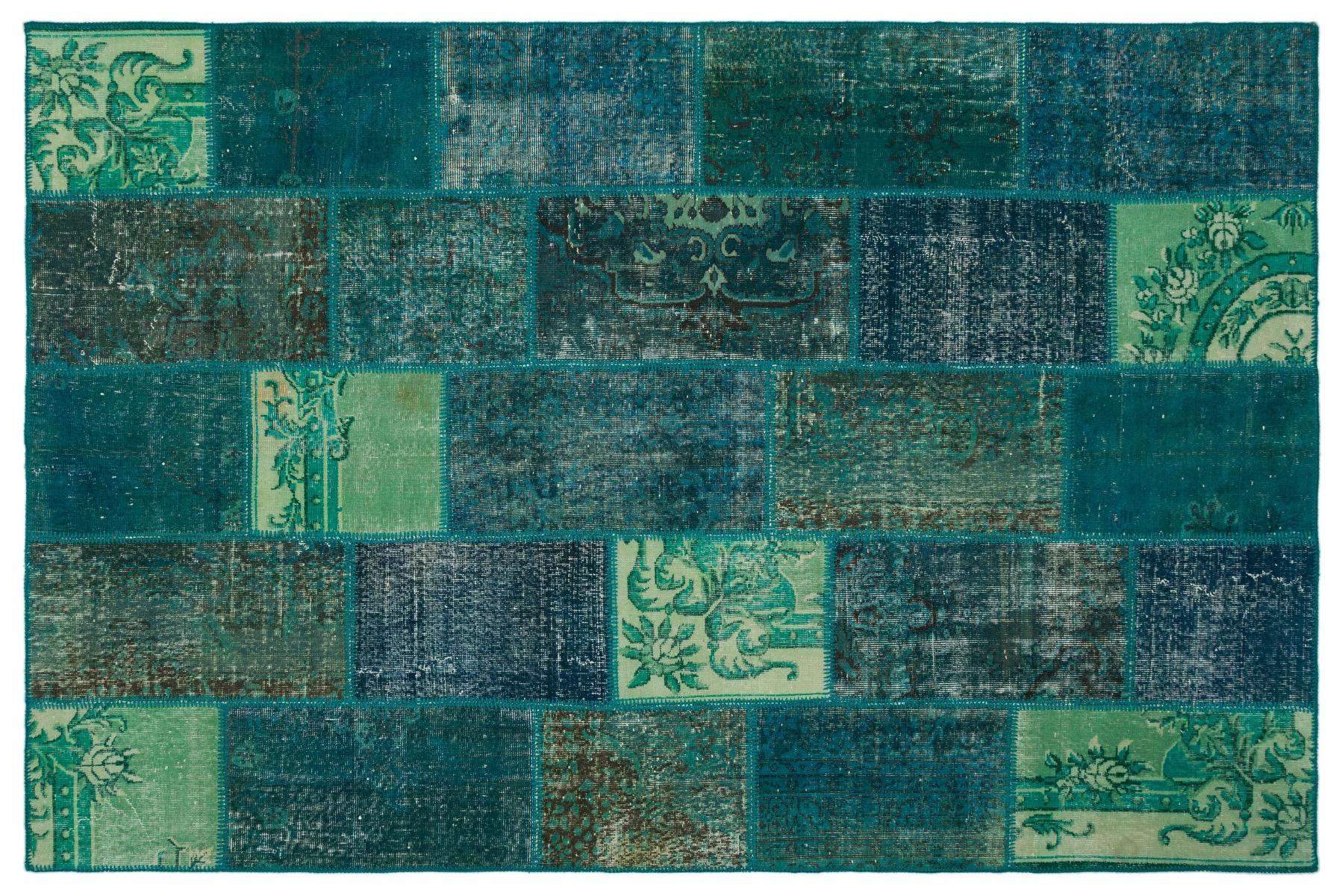 patchwork vloerkleed nr.20469 301cm x 198cm