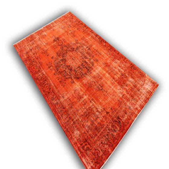 Oranje vloerkleed 207(328cm x 210cm)