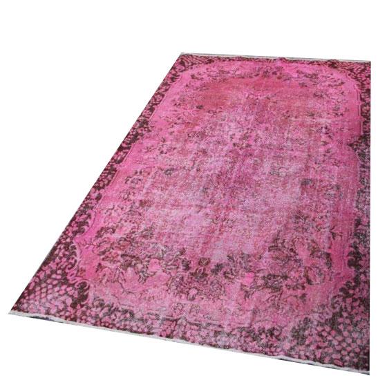 Roze vloerkleed  2088 (315cm x 200cm) VERKOCHT!!!