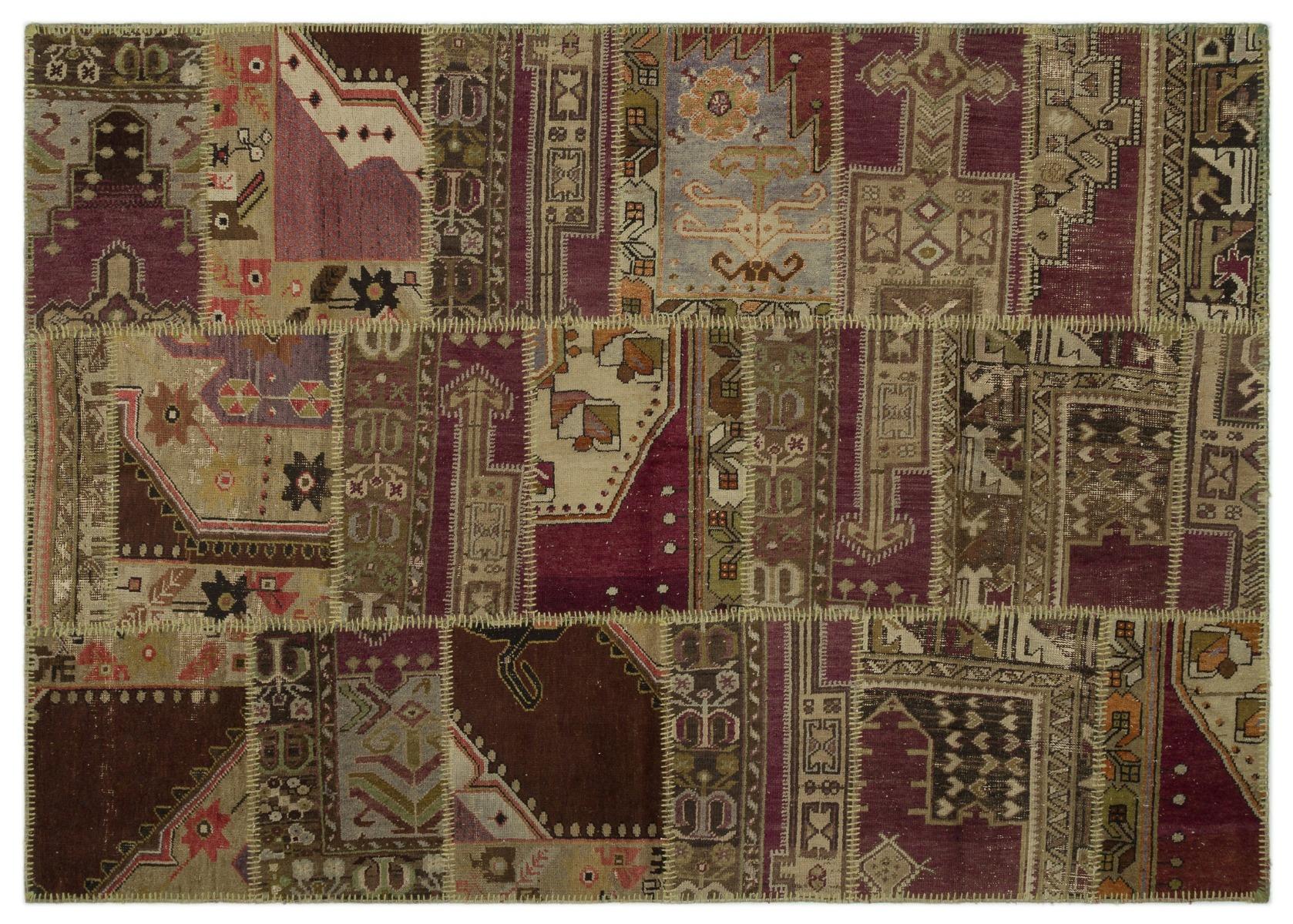 patchwork vloerkleed diverse kleuren 230cm x 160cm nr 22260