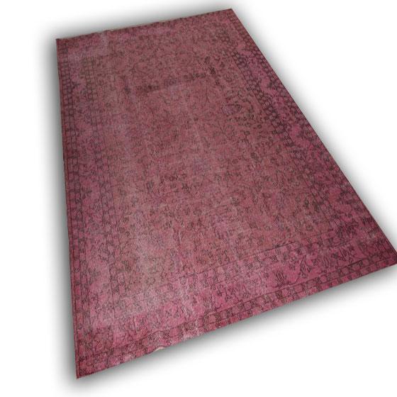 Vintage roze vloerkleed 23 ( 323cm x 216cm)