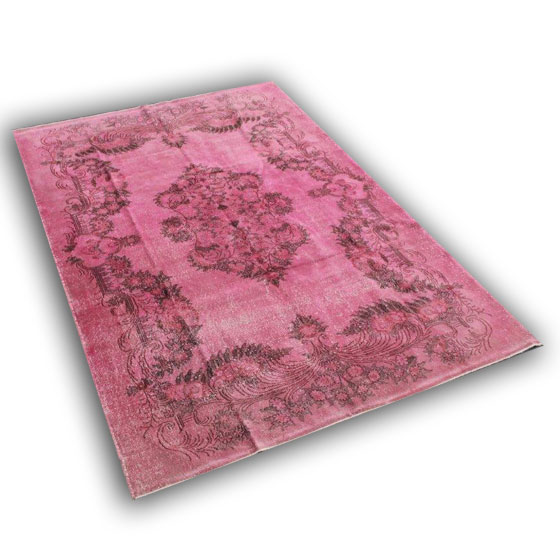 Pink tapijt 233 (295cm x 205cm)