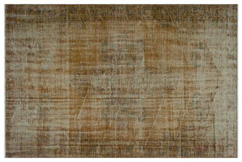 Vintage vloerkleed bruin 23468 243cm x 162cm