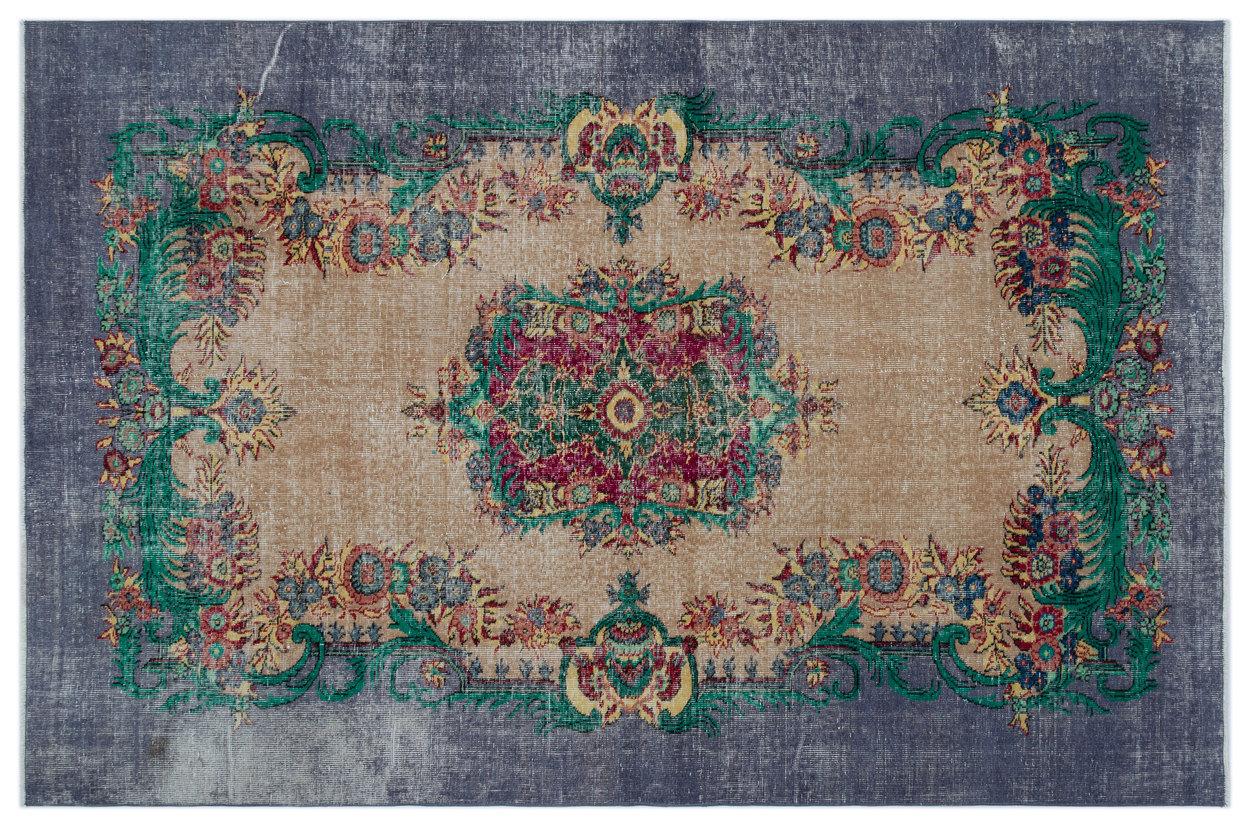 Vintage vloerkleed diverse kleuren 283cm x 179cm