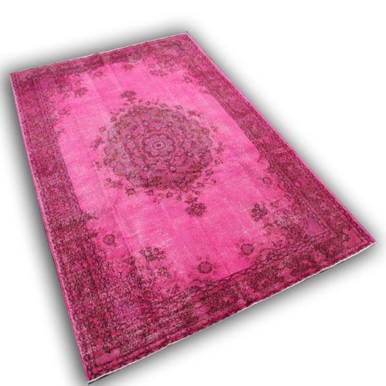 Vloerkleed roze 241 (300cm x 204cm)