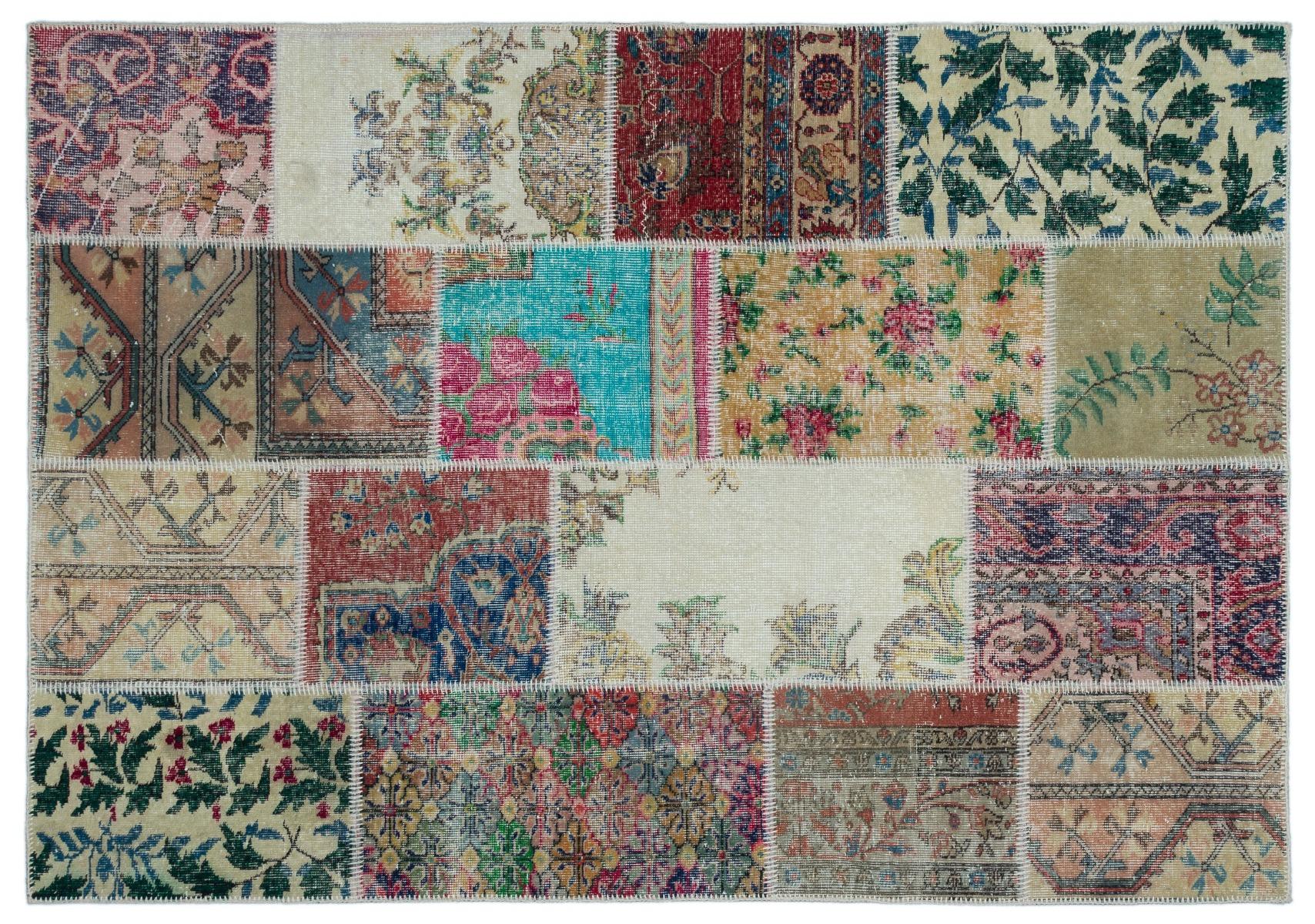 patchwork vloerkleed diverse kleuren 230cm x 160cm nr 24880